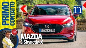 6 | Mazda3 LRT | Test ripresa comparativa in salita Syactiv-X Diesel / Benzina #SILA