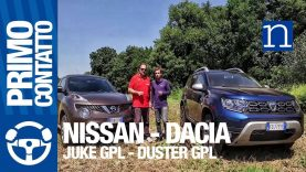 Dacia Duster vs Nissan Juke GPL | SUV test 1.600 benzina / gas